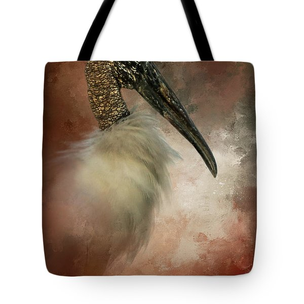 Wood Portrait  Tote Bag