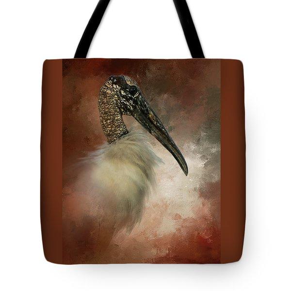 Wood Portrait  Tote Bag