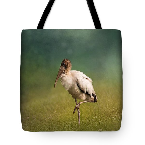 Wood Stork - Balancing Tote Bag