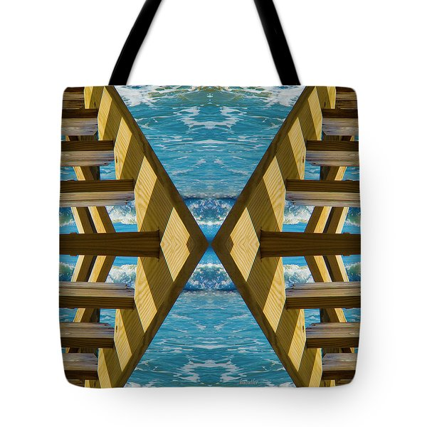 Wood Works Tote Bag by Betsy A  Cutler