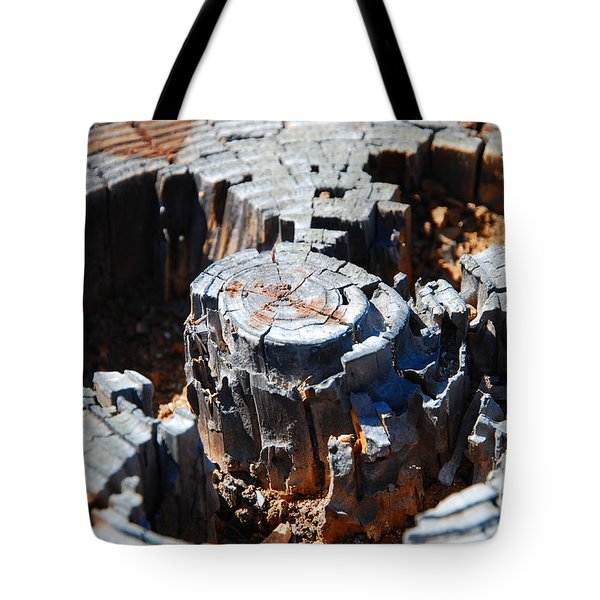 Wood World Tote Bag
