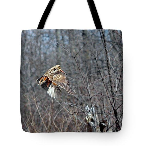 Woodcock Flight Ascension Tote Bag