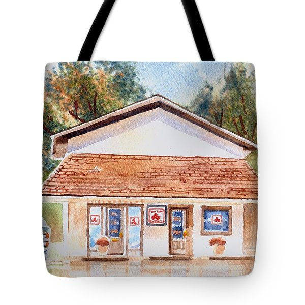 Woodcock Insurance In Watercolor  W406 Tote Bag by Kip DeVore