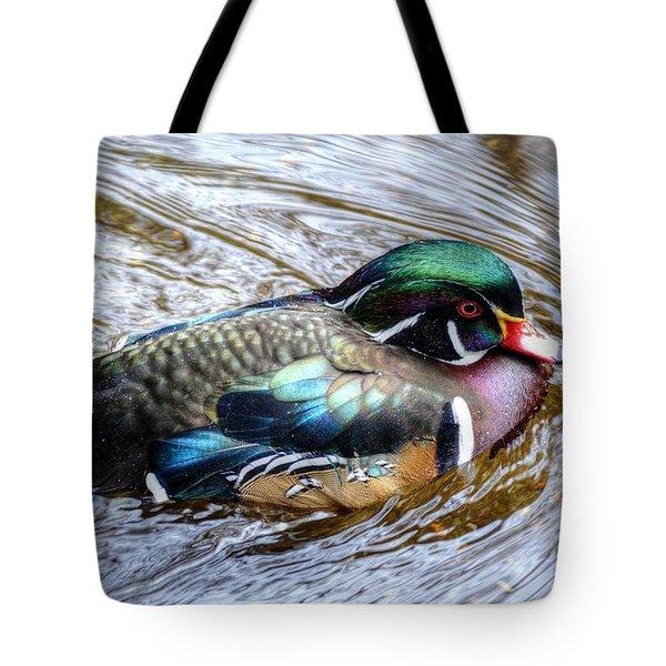 Woodduck Portrait Tote Bag
