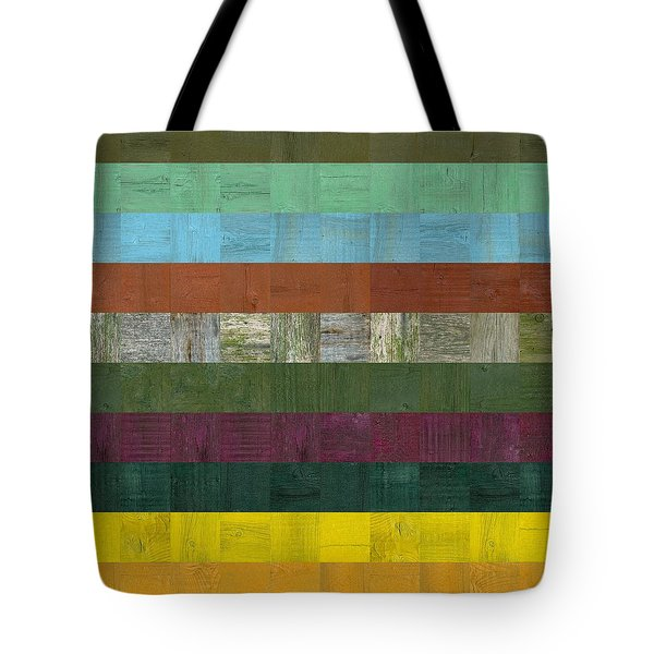 Wooden Abstract Lll Tote Bag