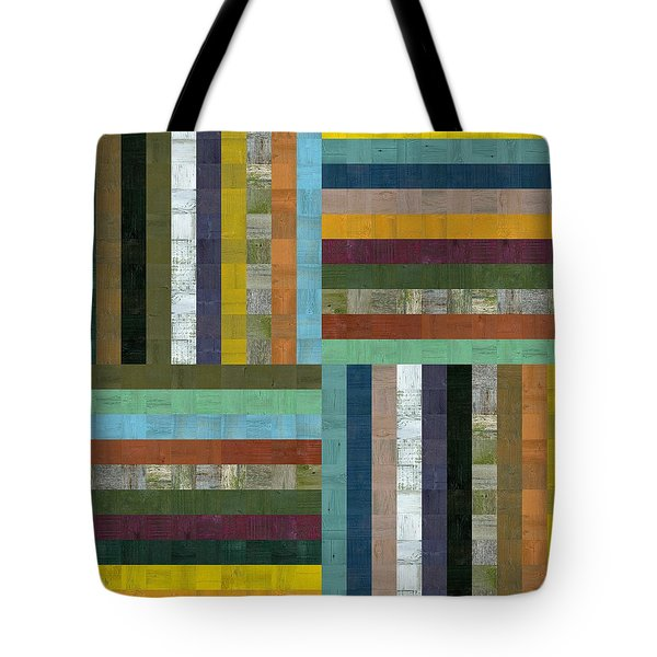 Wooden Abstract V  Tote Bag