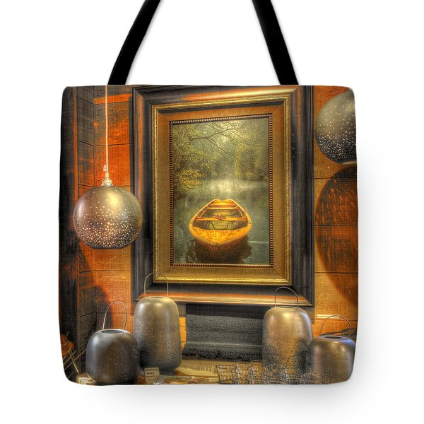 Wooden Art Tote Bag