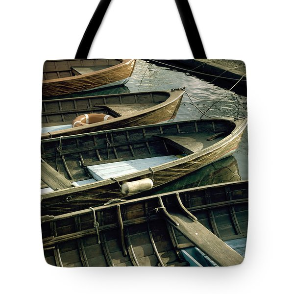 Wooden Boats Tote Bag