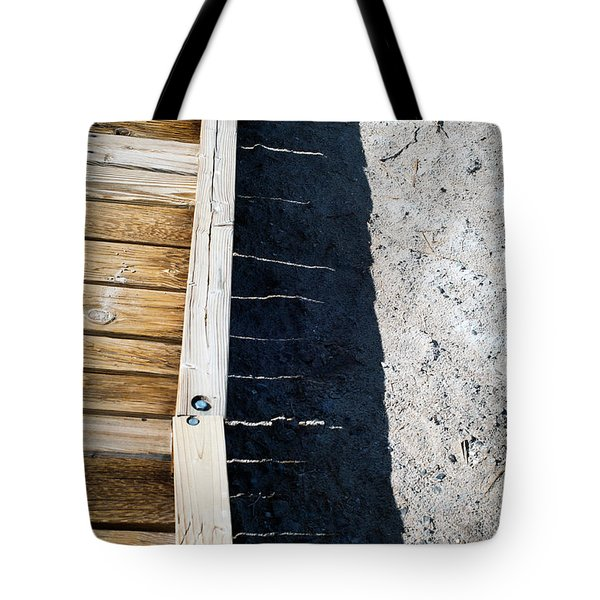 Tote Bag featuring the photograph Wooden Bridge  by Catherine Lau