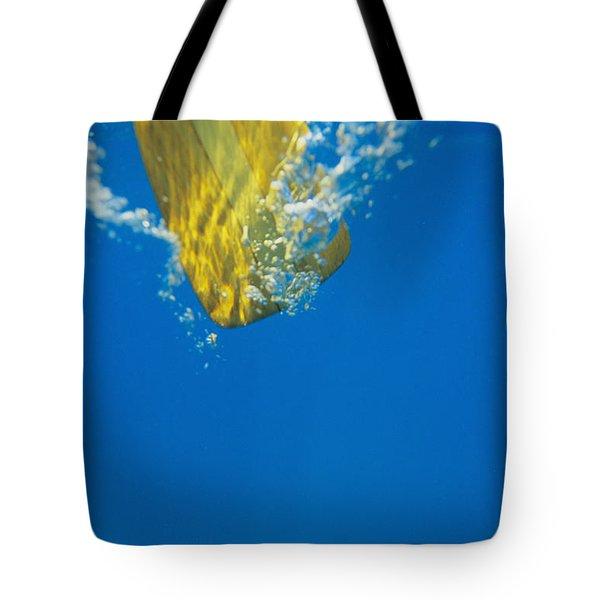 Wooden Paddle Underwater Tote Bag