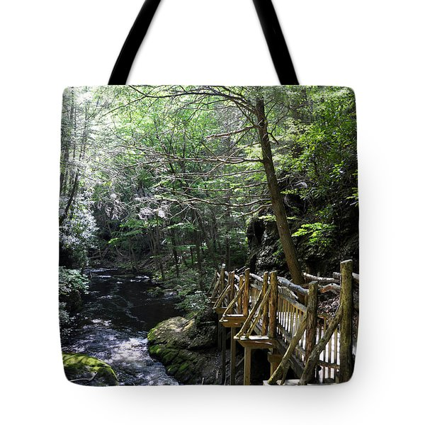 Wooden Trails - Four Tote Bag