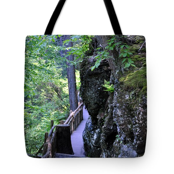 Wooden Trails - One Tote Bag