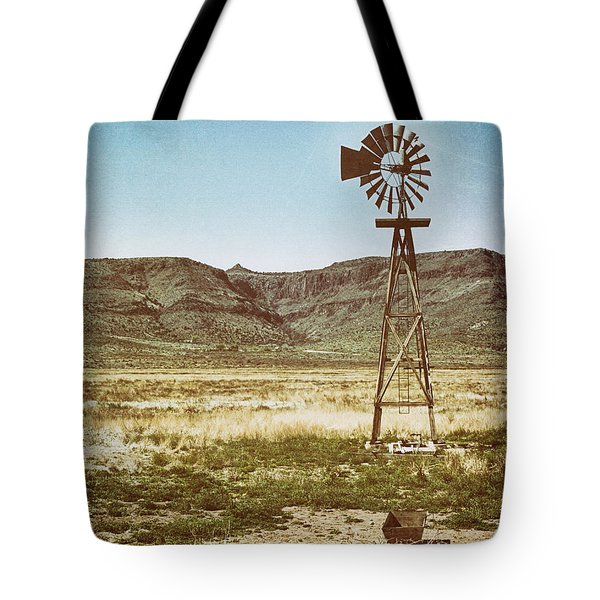 Wooden Windmill Art Tote Bag