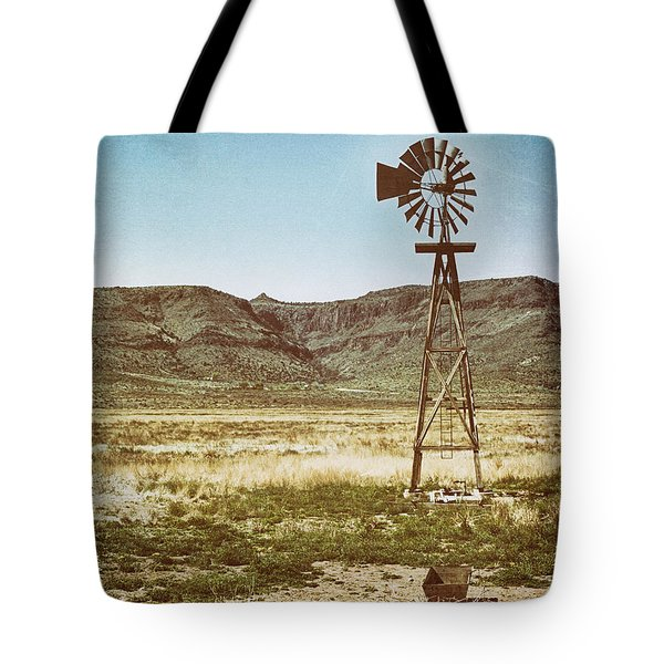 Wooden Windmill Art Tote Bag