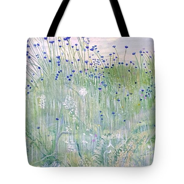 Woodford Park In Woodley Tote Bag by Joanne Perkins