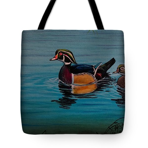 Woodies Tote Bag