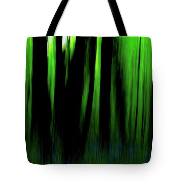 Woodland Abstract Iv Tote Bag