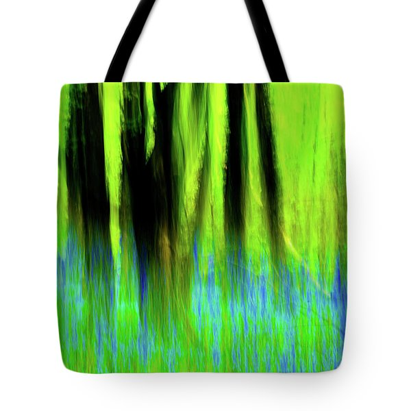 Woodland Abstract Vi Tote Bag