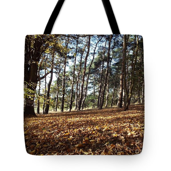 Woodland Carpet Tote Bag