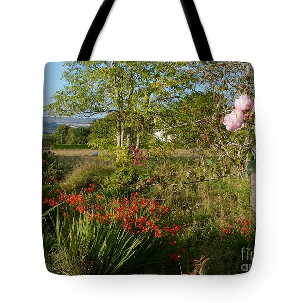 Woodland Garden In Early Autumn Tote Bag