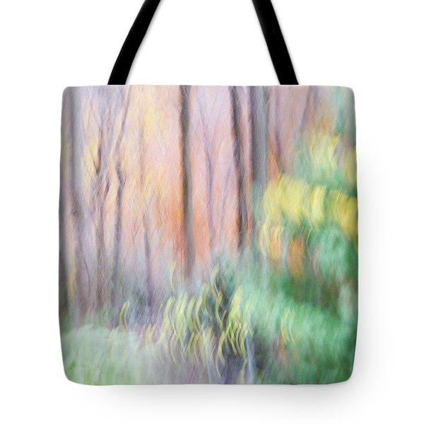 Tote Bag featuring the photograph Woodland Hues 2 by Bernhart Hochleitner