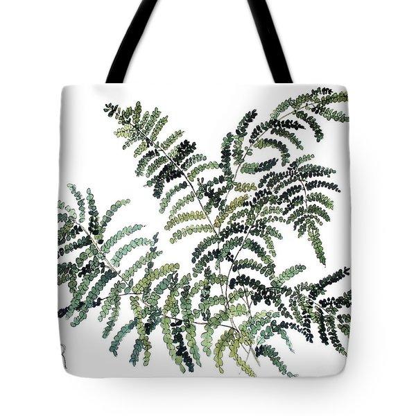 Woodland Maiden Fern Tote Bag