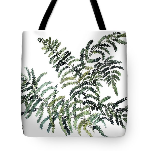 Woodland Maiden Fern Tote Bag