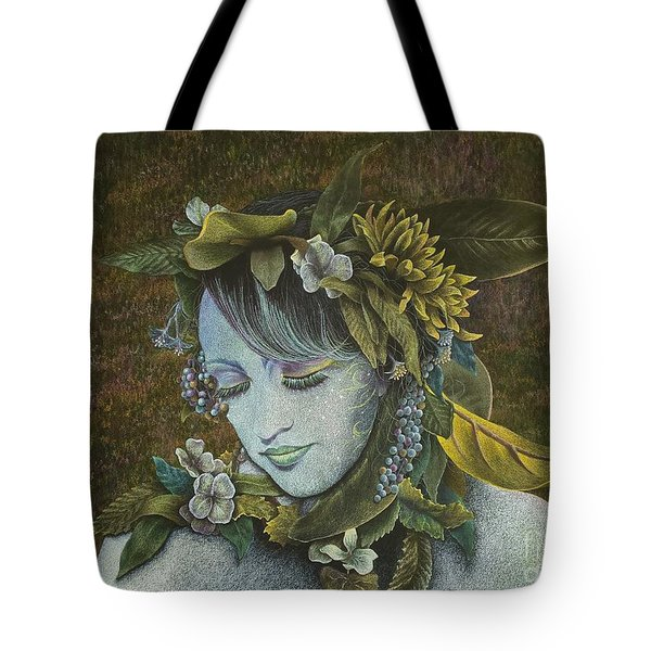 Woodland Nymph Tote Bag