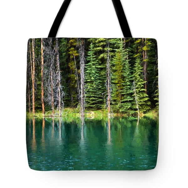 Woodland Reflections Tote Bag