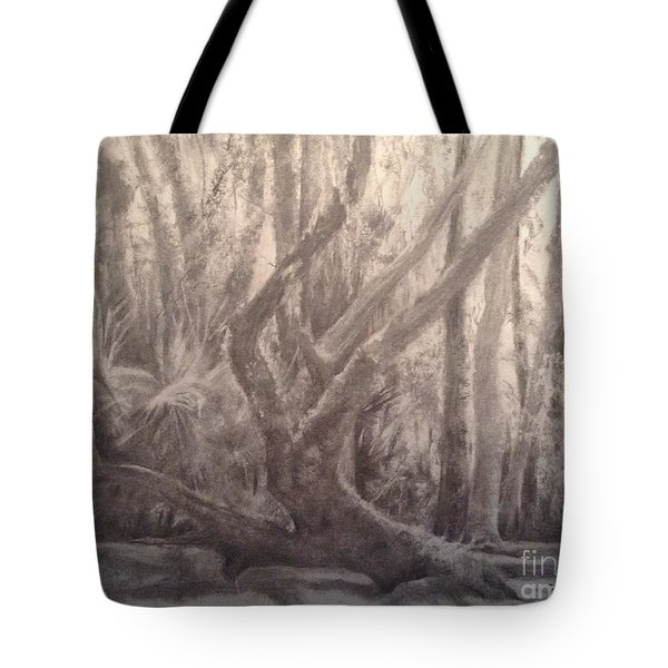 Woodland Statuary Tote Bag