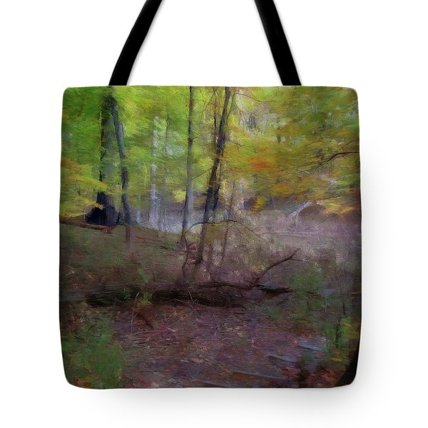 Woodland Steps Tote Bag
