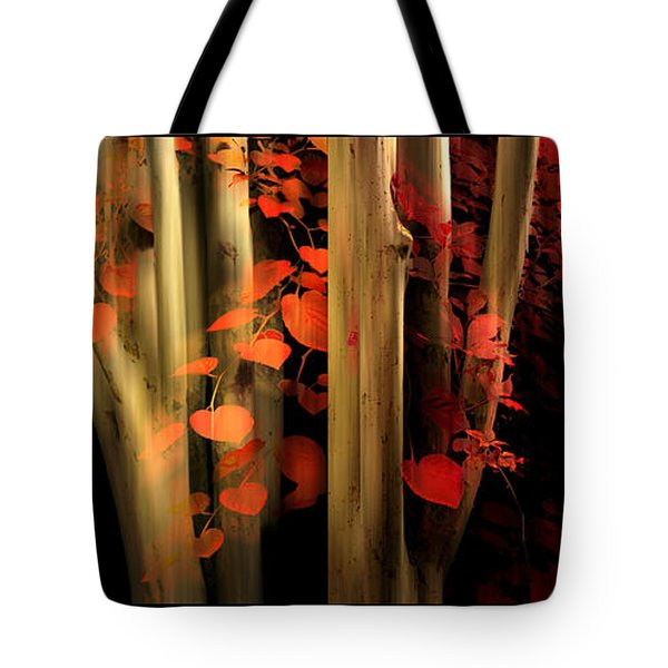 Tote Bag featuring the photograph Woodland Whispers by Jessica Jenney