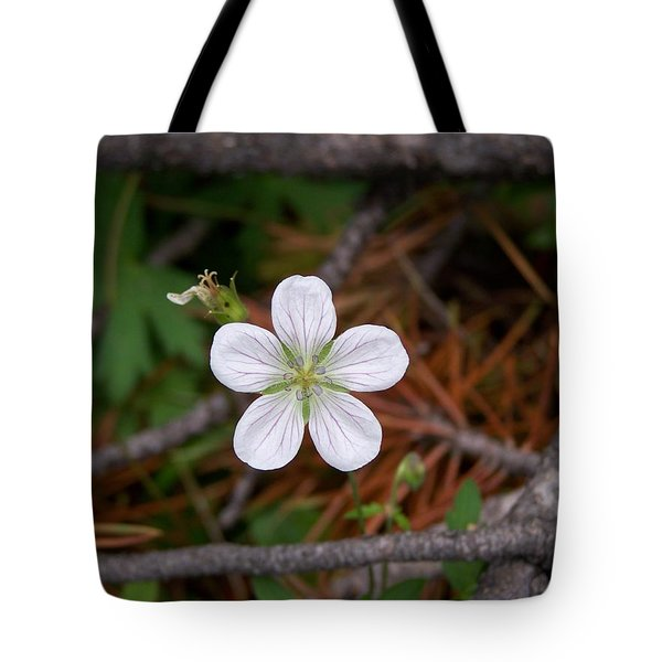Woodland Wildflower Tote Bag