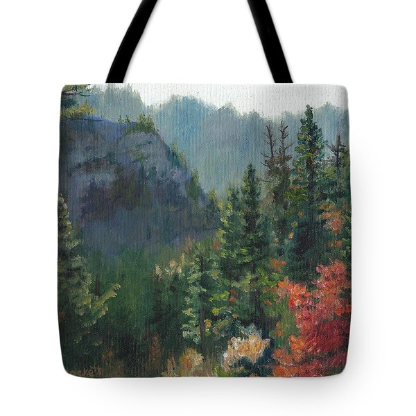 Woodland Wonder Tote Bag by Lori Brackett