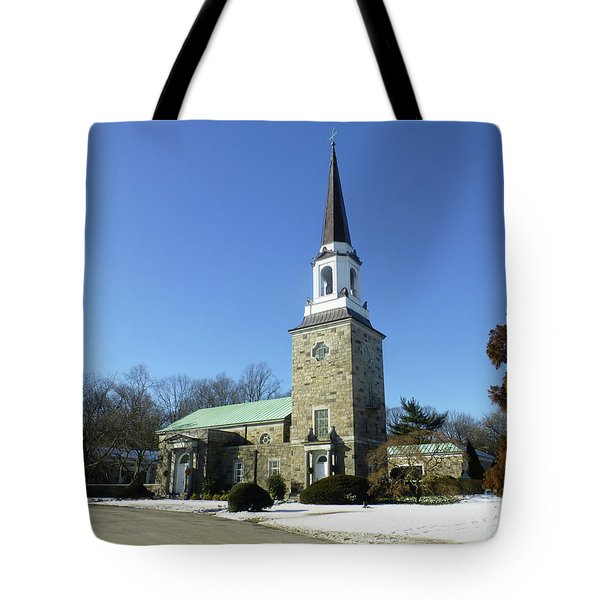 Woodlawn Cemetery Chapel Tote Bag