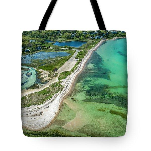 Woodneck Beach Tote Bag