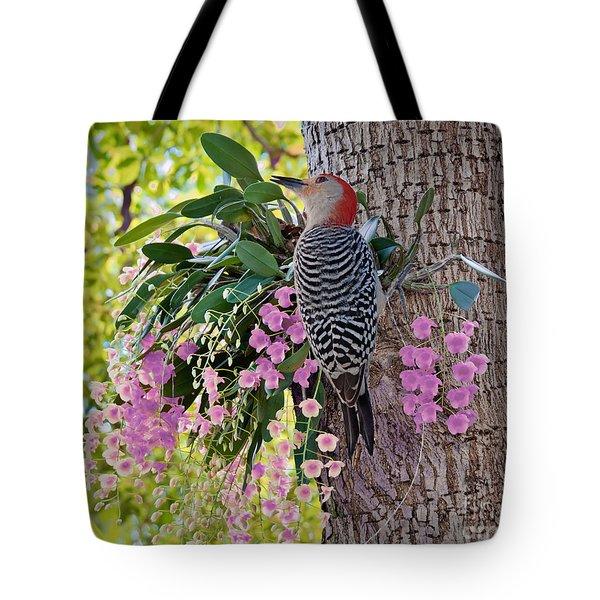 Woodpecker Heaven Tote Bag