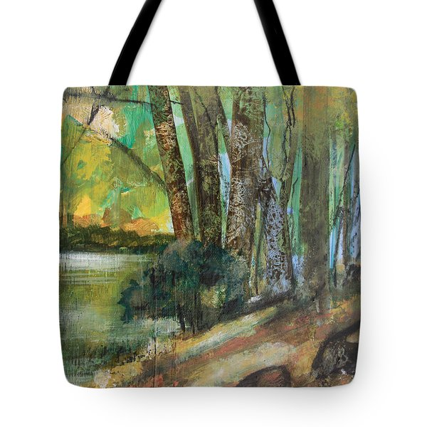 Woods In The Afternoon Tote Bag by Robin Maria Pedrero
