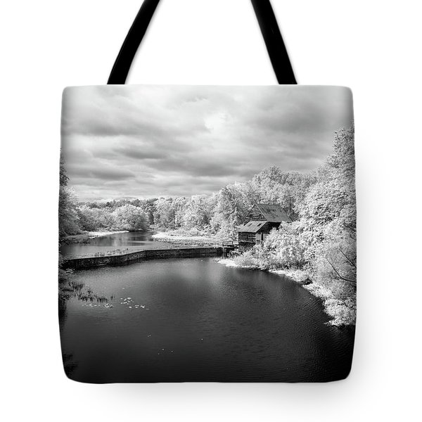 Woodson's Mill On The Little River Tote Bag