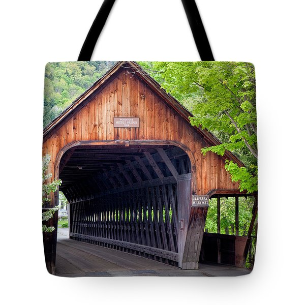 Woodstock Middle Bridge Tote Bag