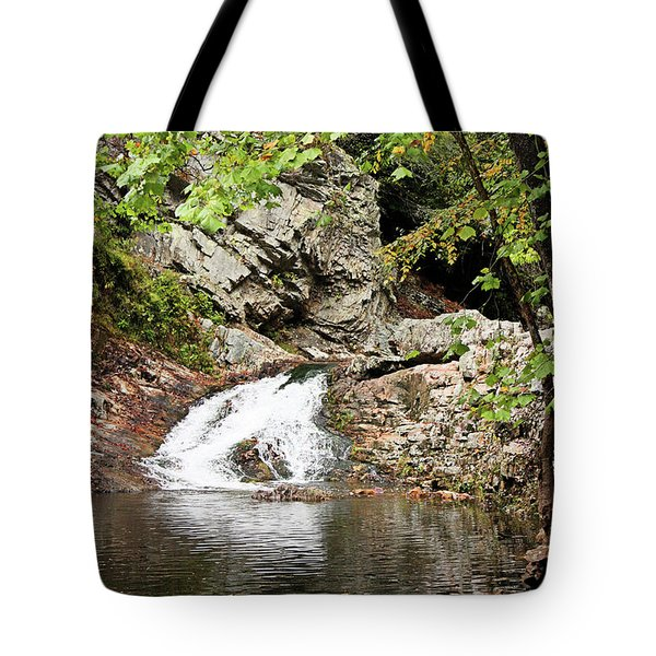 Tote Bag featuring the photograph Woodsy Flow by Kristin Elmquist