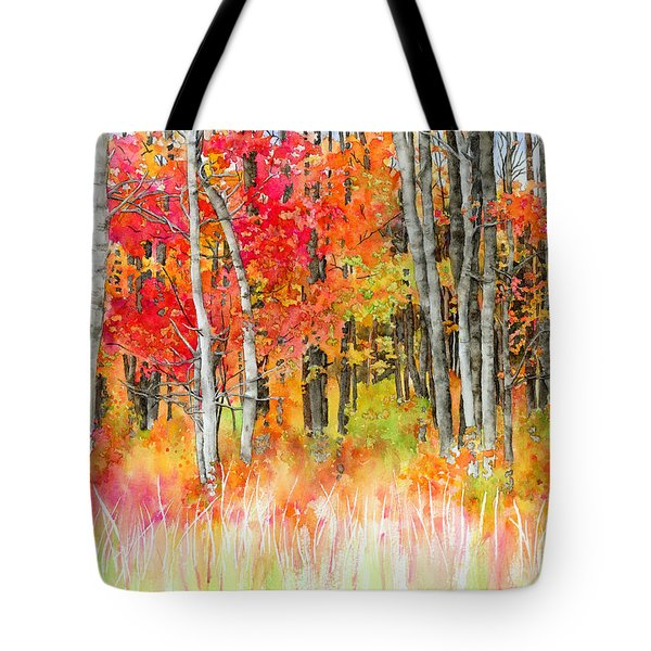 Woodsy Forest Tote Bag