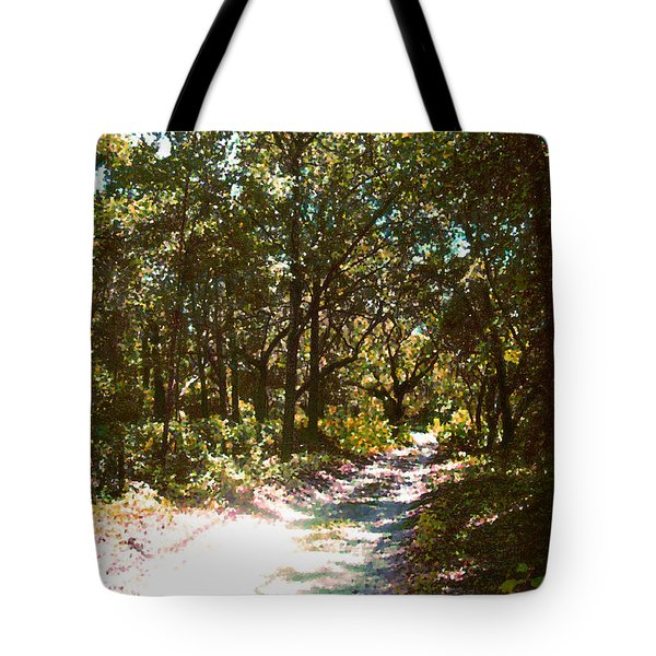 Woodsy Trail Tote Bag