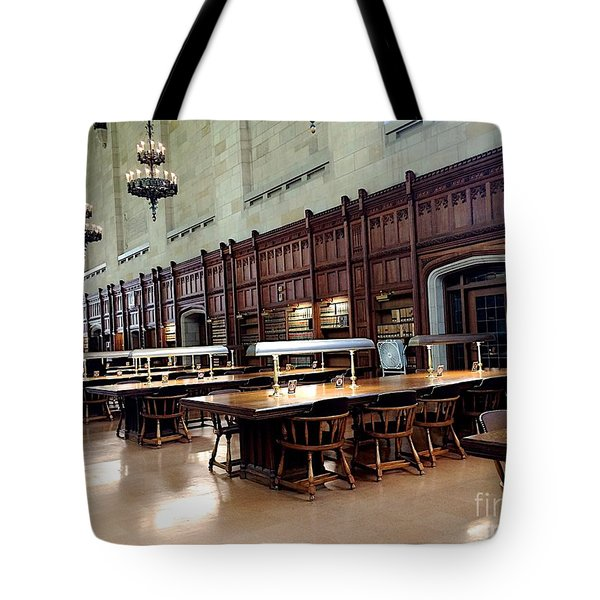 Woodwork Tote Bag