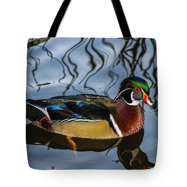 Woody Tote Bag by Robert Hebert