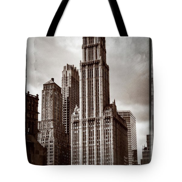 Woolworh Building 2008. Tote Bag