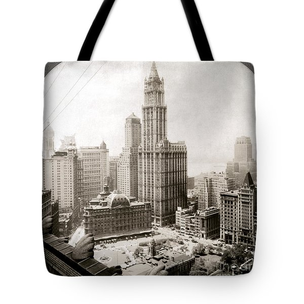 Woolworth Building, 1920s Tote Bag by Granger