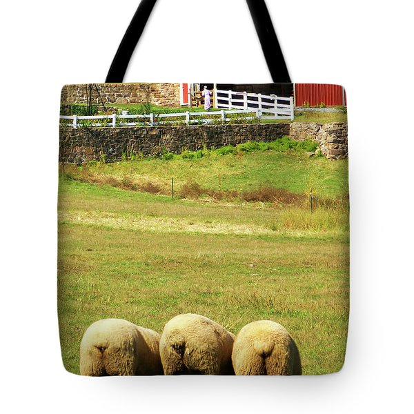 Wooly Bully Tote Bag