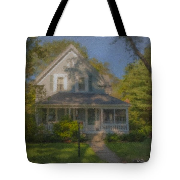 Wooster Family Home Tote Bag