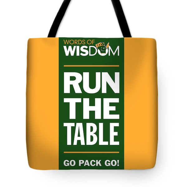 Words Of Wisdom Tote Bag